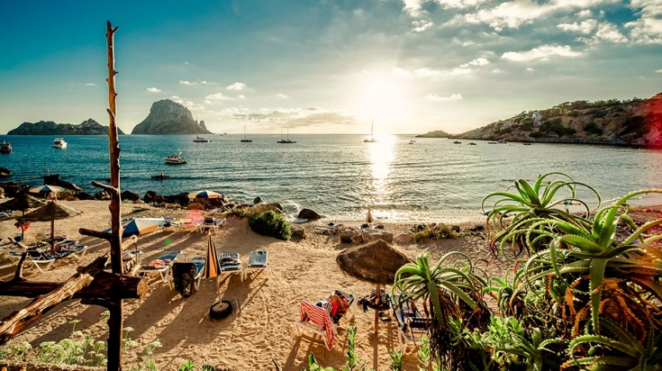Spain attraction Ibiza