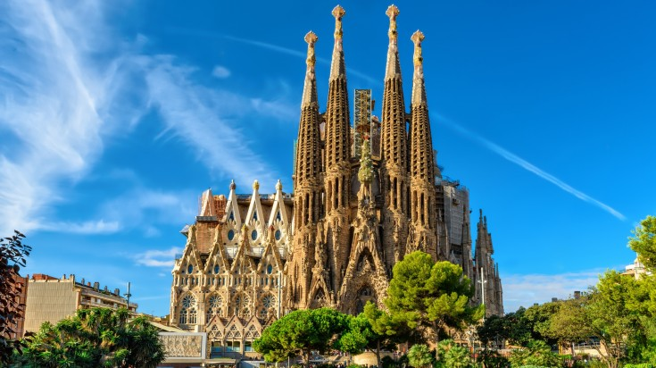 La Sagrada Familia in Spain