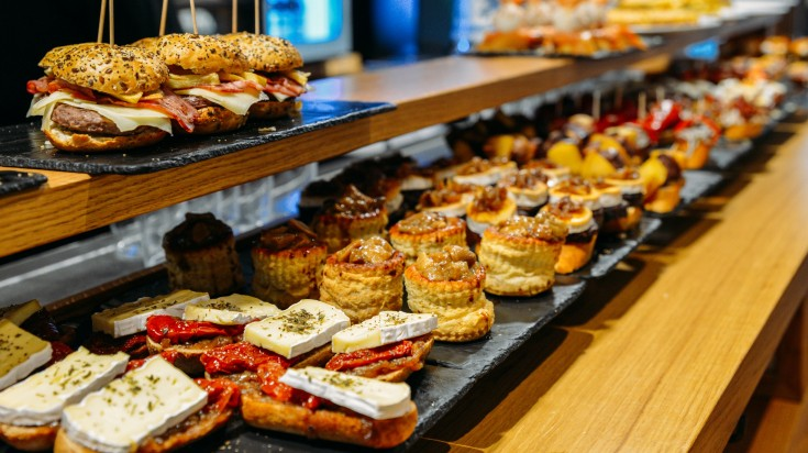 Eat pintxos in Basque Country in Spain