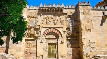 Door of St. Stephan in Mosque of Cordoba