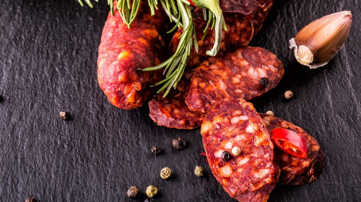 spanish food chorizo
