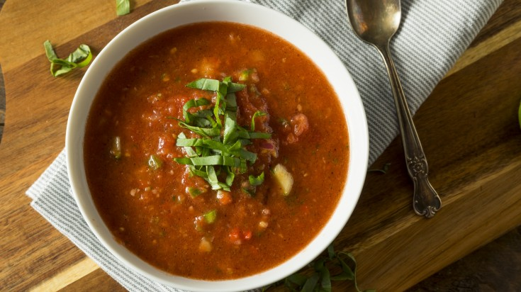 Spanish food gazpacho