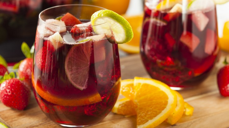 Spanish food sangria