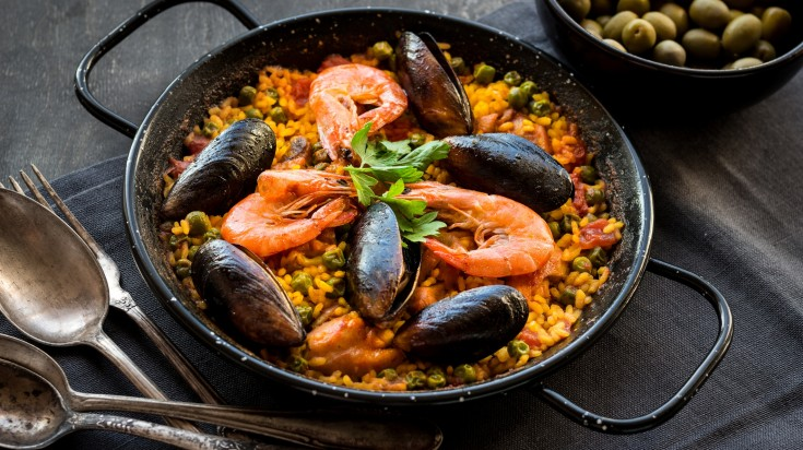 Spanish Food Paella