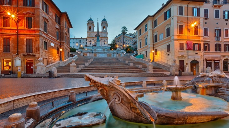 Travel Rome, and when you do do visit this enchanting Spanish Steps in Rome