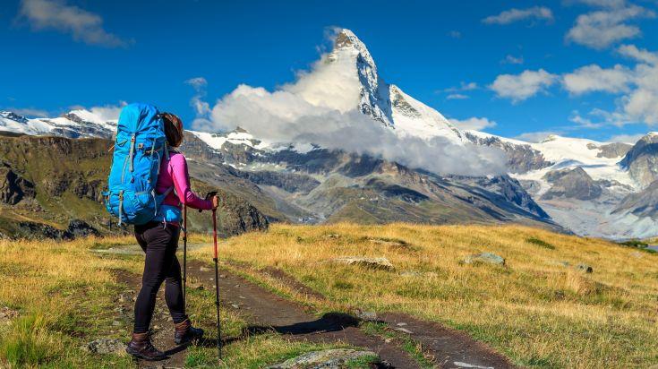The Matterhorn is a mountain of the Alps