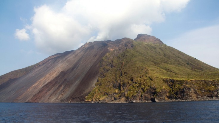 Hiking in Italy via Stromboli Volcano in Sicily