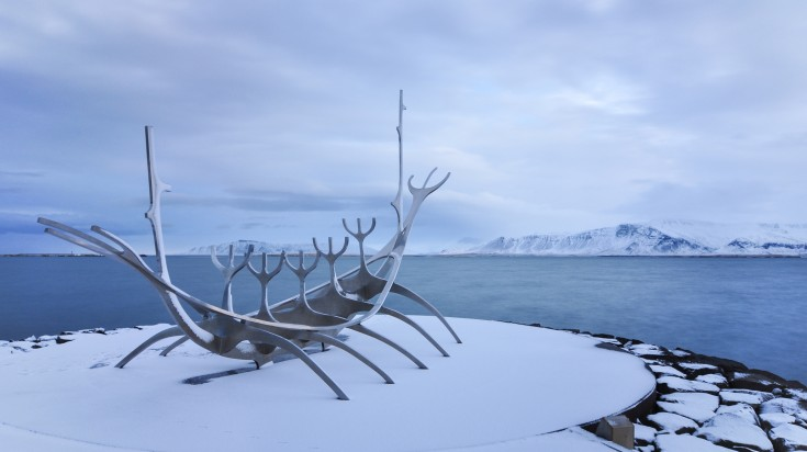 Sun Voyager is a sight to see in Reykjavik