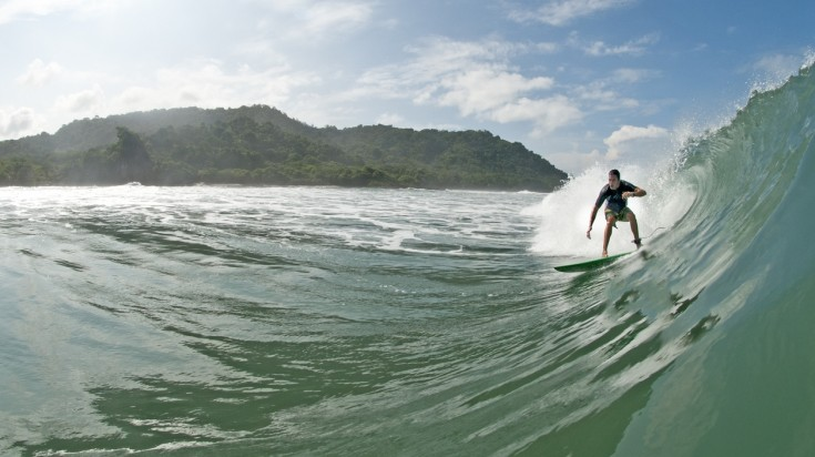 Costa Rica is considered one of the best places to surf