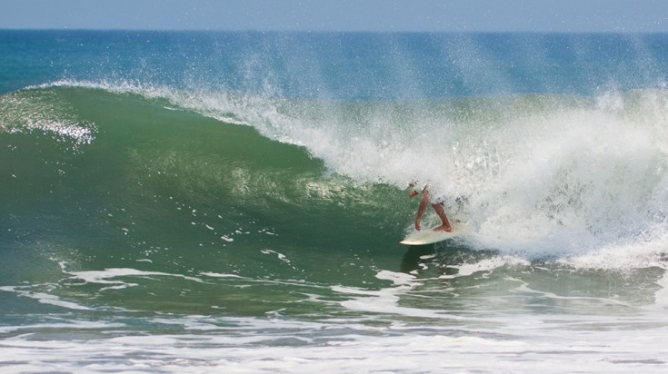 Tamarindo is a great place to surf for beginners and pros