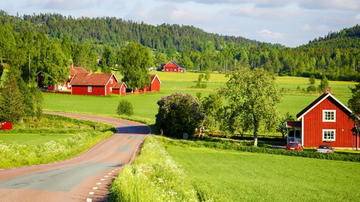 Low seasons months are the best time to visit Sweden's countryside