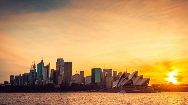 Sydney in Australia is a popular city