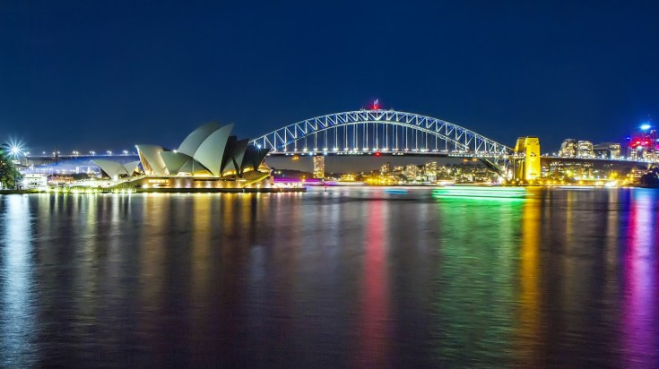 The Sydney Opera House and Harbour bridge are the icons of Australia