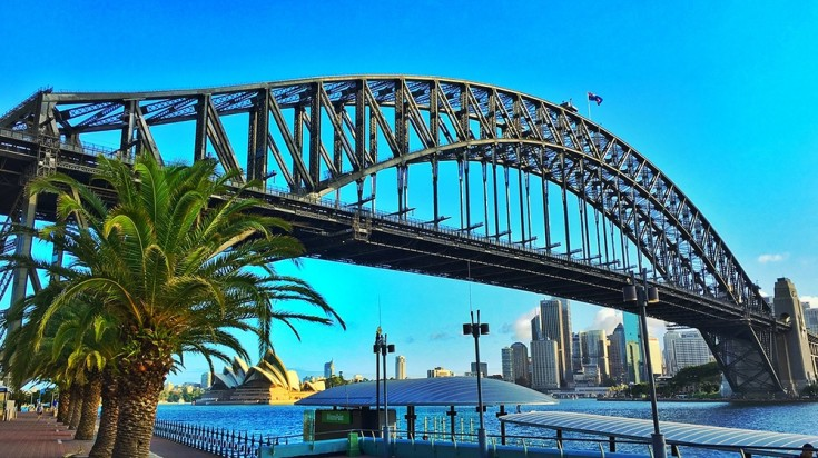 Among the top places to go in Sydney is a climb to the top of harbor bridge
