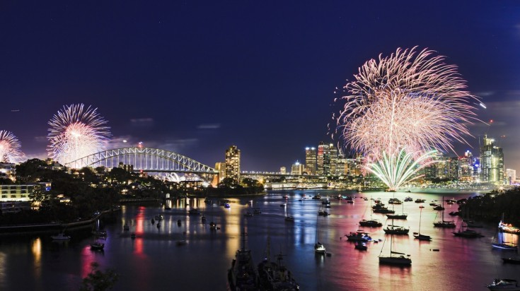 New year's is the best time to visit Sydney
