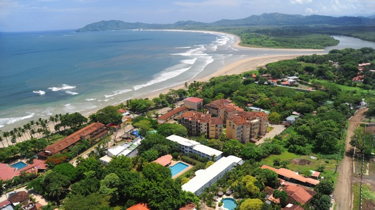 At Tamarindo Beach, you can surf, do kayaking, windsurfing or ATV riding