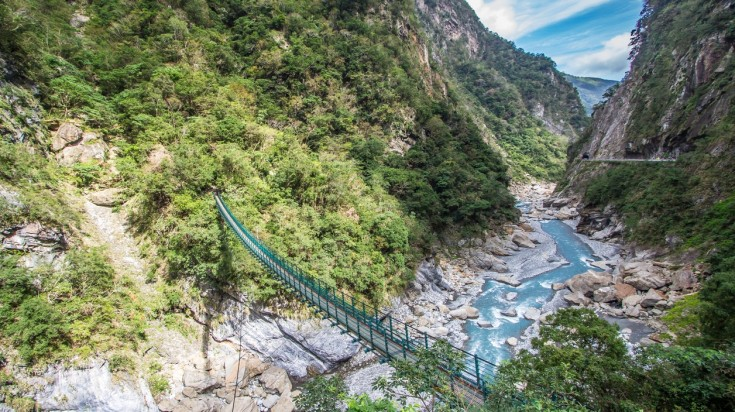 The Taroko National Park is a stunning natural escape.
