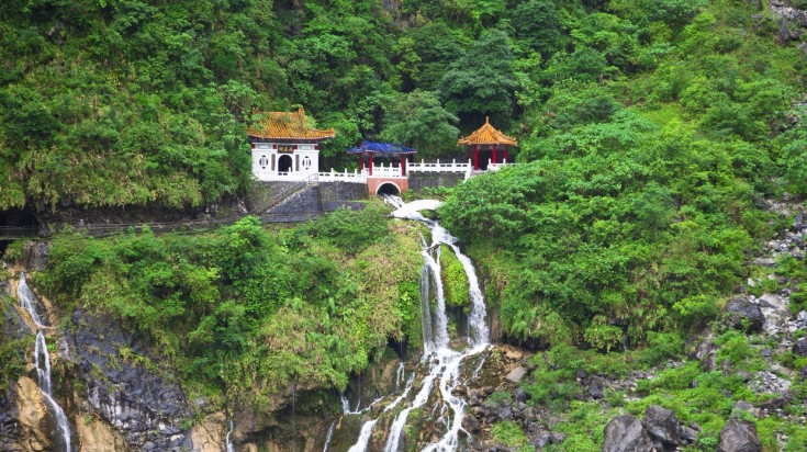 Taroko National Park is a national gem of Taiwan.
