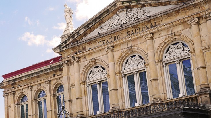 Teatro Nacional a historical building in San Jose, Costa Rica