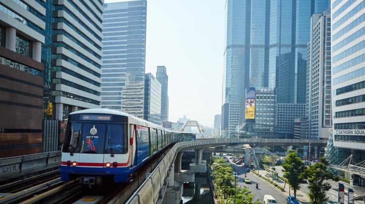 The Bangkok Mass Transit System