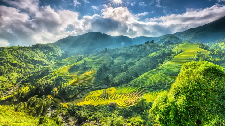 The beautiful highlands of Sapa