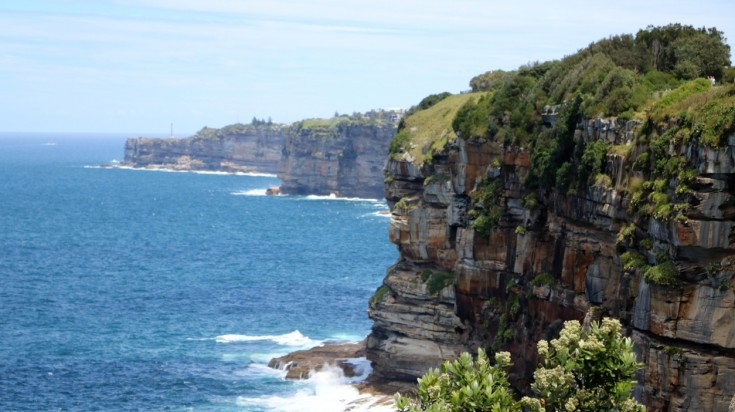 The Gap in Sydney is a great place for off-shore diving