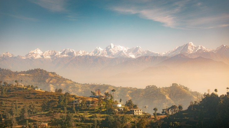 The Pikey Peak trek boasts the views of Nepal's eight-thousanders all from