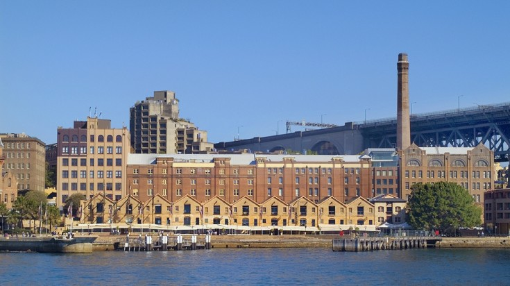 The Rocks in Sydney is emerging as a vibrant cultural precinct.