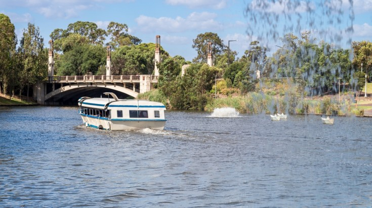 Things to do in Adelaide, cruise in Torrens river