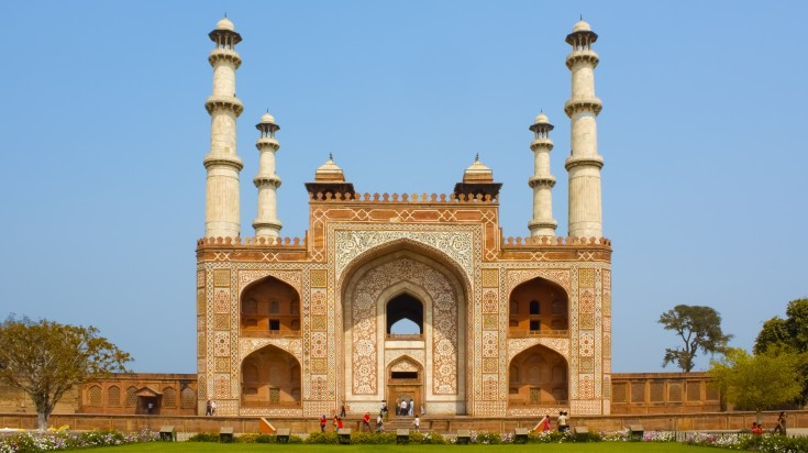 Akbar's Tomb in Agra