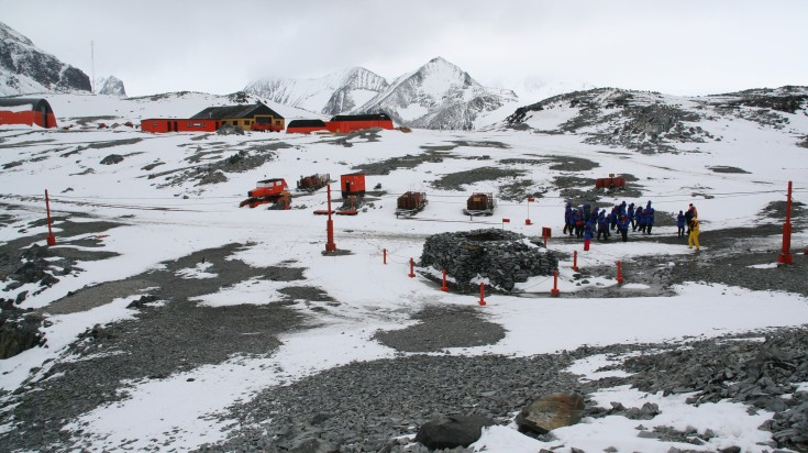 Visiting Research Centers is a must do thing in Antarctica