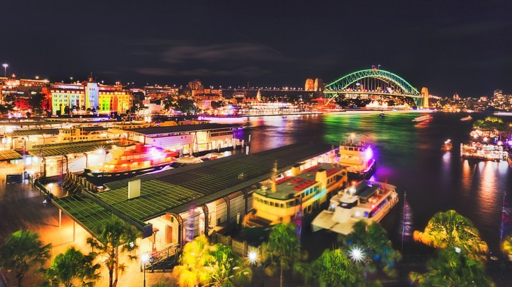 Things to do in Australia Vivid Sydney festival