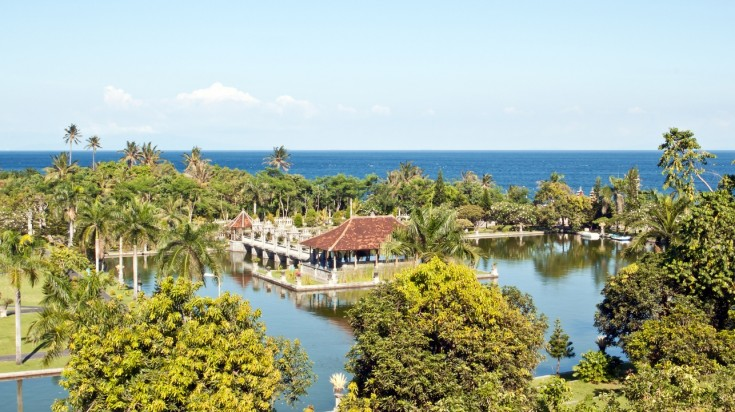 Visiting the Taman Ujung Water Palace is a top thing to do in Bali