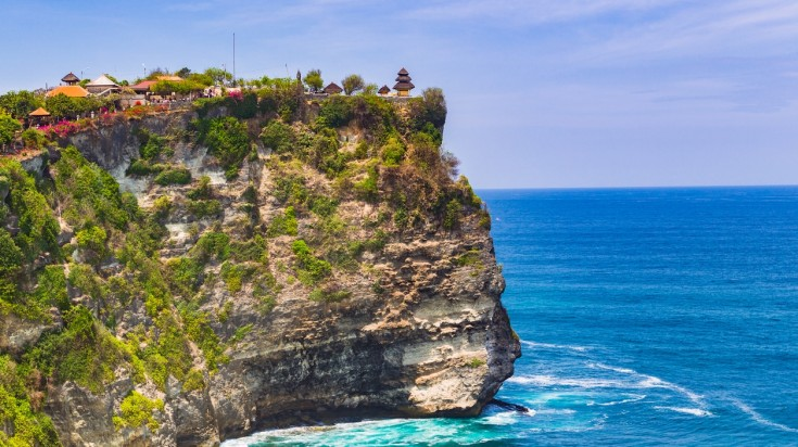 Visiting Pura Luhur Uluwatu temple is a top thing to do in Bali