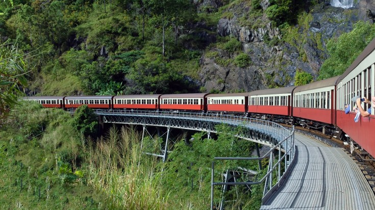 Things to do in Cairns Kuranda Railway