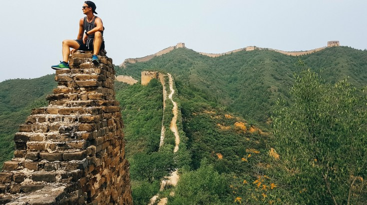 A hike to the Great Wall is one of the best things to do in China