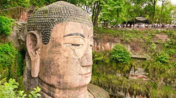 One of the most peaceful things to do in China is to see the Leshan Buddha