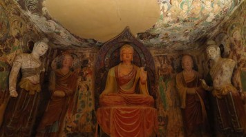Visiting the peaceful Magao Caves is the best thing to do in China