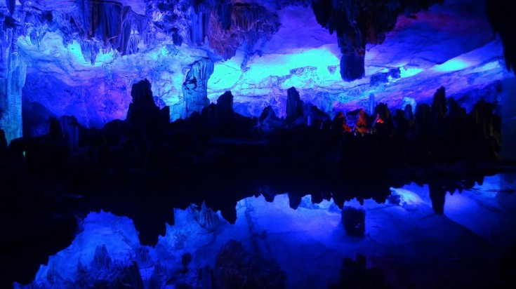 Reed Flute Cave has been a tourist attraction in China for 1200 years