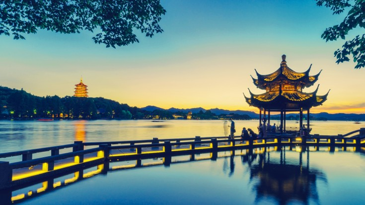 West Lake is a top tourist attraction in China