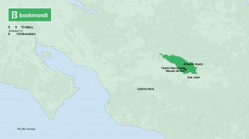 Things to do in Costa Rica Chepe map