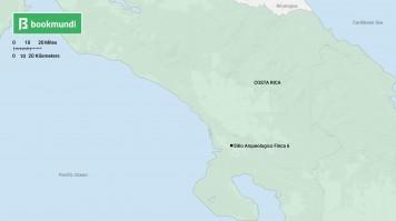 Costa Rica Sitio Arqueologico map