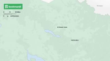 Costa Rica Venado Caves map
