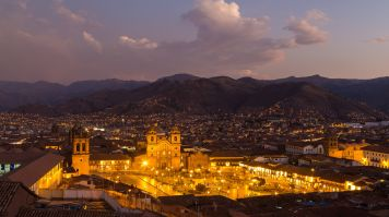 Plaza de Armas is the center of Cusco.