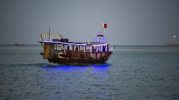 Things to do in Dubai Dhow cruise