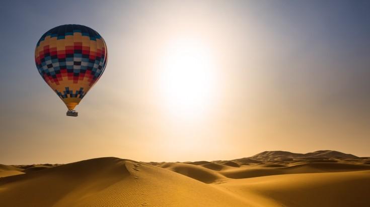 Things to do in Dubai ballooning