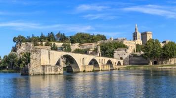 Pope's Avignon in France