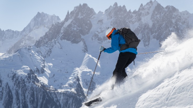 Skiing is one of the thing to do in France