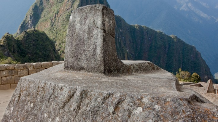 Visiting Intihuatana is one of the top things to do in Machu Picchu