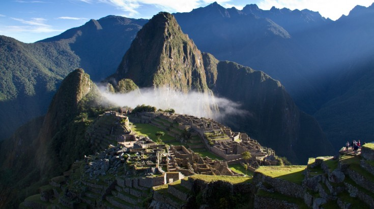 Watching the sunrise is a top thing to do in Machu Picchu